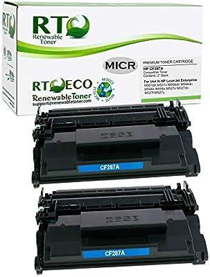 2PK toner Cartridge for LaserJet Enterprise M506X printer 87A CF287A HI-QTY!