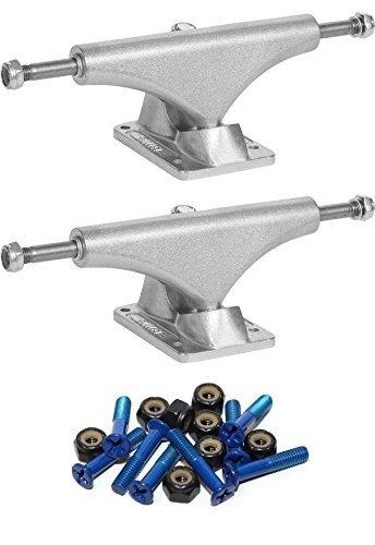 有用ケイ素ラグBulletスケートボード150 mmスケートボードトラックwith 1