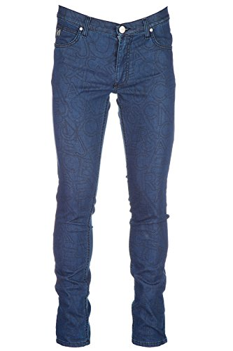 (Versace Jeans Men's Jeans Denim Skinny blu US Size 34 (US 34) A2GQB0KG QUM506C)