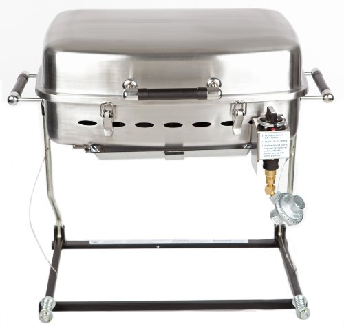 Fleming Sales RVAD650 Stainless Steel RV Sidekick Grill Review