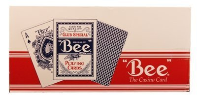 - BEE Poker Standard Size Index Playing Cards - ONE Dozen (12 Pack)
