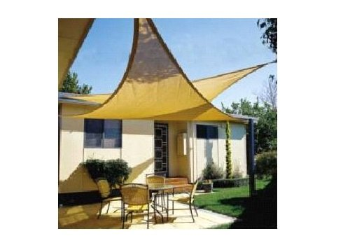 Amazon.com  New ProSource Sand Color 16u0027 Oversized Sun Shade Sail Shade canopy Sun Shelter  Garden u0026 Outdoor  sc 1 st  Amazon.com : outside shade canopy - memphite.com