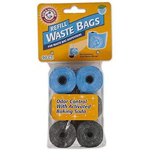 - Arm & Hammer Easy-Tear Disposable Waste Bag Refills Assorted Colors Various Multi-packs Available