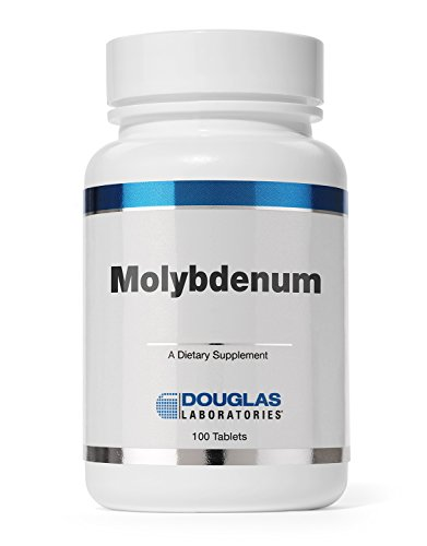 (Douglas Laboratories - Molybdenum (250 mcg.) - Supports Detoxification, Enzymes, Nerves, and Sense of Well-Being* - 100 Tablets)