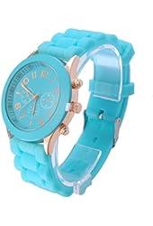 OFTEN® Popular Silicone Quartz Men Women Girl Boy Unisex Jelly Wrist Watch