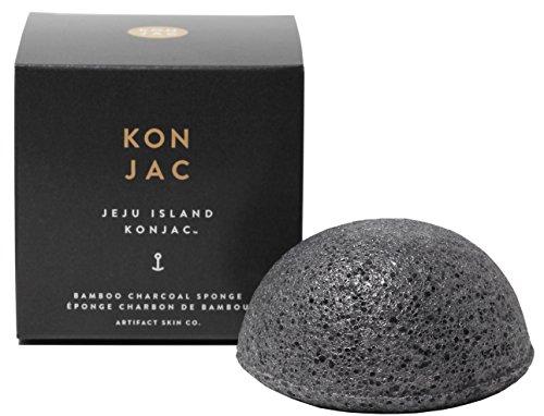 artifact-skin-co-jeju-island-bamboo-charcoal-konjac-facial-sponge