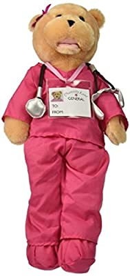 "Chantilly Lane 19"" Scrubs Female Bear Sings ""I'll Be There"" 