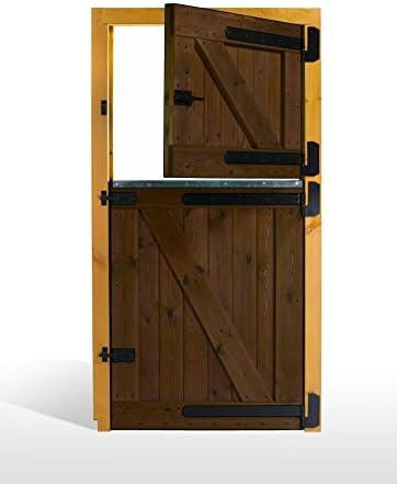 ESTRUCMADER - Puerta Partida en 2 Hojas para Box de Caballo. Mod ...