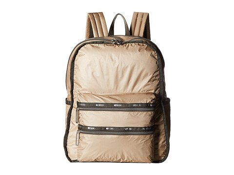 (レスポートサック) LeSportsac レディースファッションバッグパックリュック Functional Backpack [並行輸入品] B06XG131RQ One Size (OS)|Travertine Travertine One Size (OS)