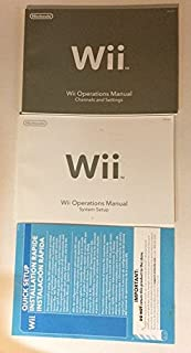 wii operations manual channels and settings nintendo nintendo rh amazon com Wii Operations Manual an Error Has Occurred Installing Batteries Wii Operations Manual