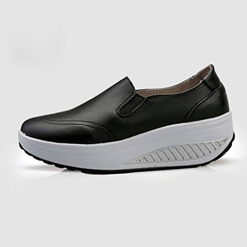Women Shoes Shake Sport Leather Shoes Breathable Outdoor Arichtop Fitness Girl Running Black Sneakers Sport Breathable HqxORnwg