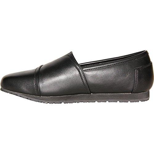 VANGELO Professional Slip Resistant Women Work Shoe Isana Black by VANGELO (Image #5)
