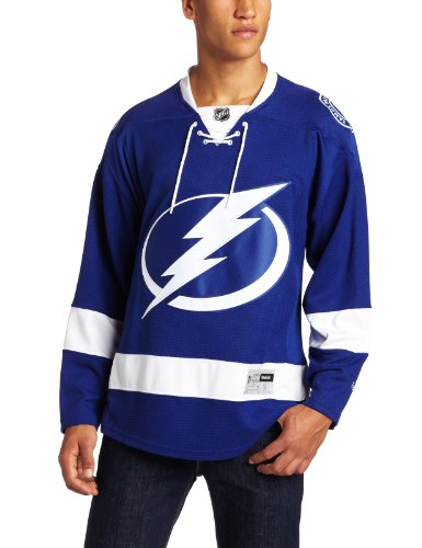 Reebok Tampa Bay Lightning Premier Home Team Jersey (Royal) – Sports Center Store