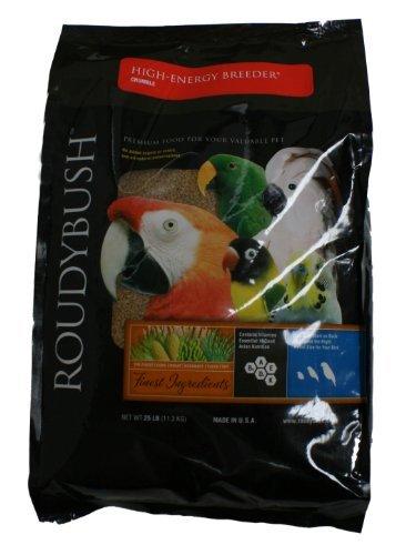 Roudybush High Energy Breeder Bird Food, Crumble, 25-Pound by RoudyBush by Roudybush, Inc.