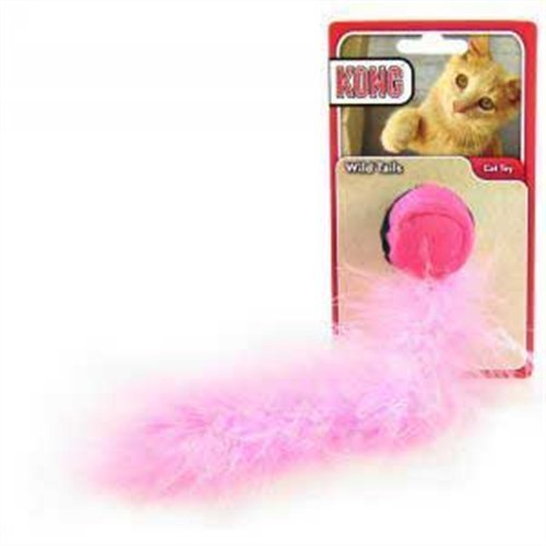 KONG Cat Wild Tails Cat Toy (Colors vary), My Pet Supplies