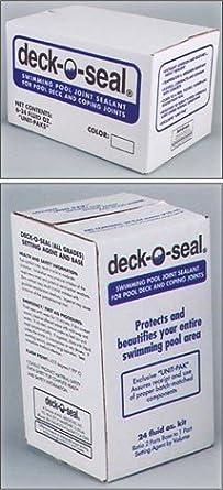 Deck-O-Seal Polysulfide-Based Pool Joint Sealant 96 oz. Kit ...