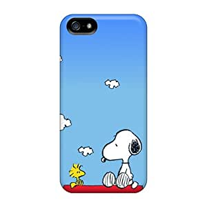 Durable Defender Case For Iphone 5/5s Tpu Cover(snoopy)
