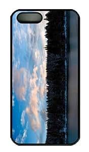 Case For Iphone 5C Cover CaCustomized Unique Design Lake 27 New Fashion PC Black Hard