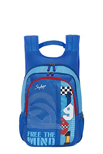 Skybags Komet 04 21 Ltrs Blue Laptop Backpack (Komet 04)
