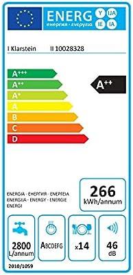 KLARSTEIN Amazonia 90 Luminance lavavajillas Clase A++ (2100W, 14 ...