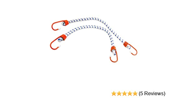 Camping - SGT KNOTS Heavy Duty Bungie 3//8 in 4-Pack Bunji Cord Straps Marine Grade Bungee Cords with 2 Hooks Bungees for Bikes 16 in - Red Cars Bungee Cord with Hooks Tie Downs