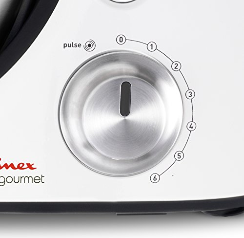 Moulinex masterchef gourmet 900w 4 6l blanco robot de for Robot de cocina masterchef