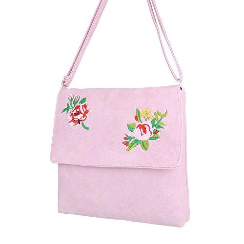 Schuhcity24 Taschen Umhängetasche Rosa 1kEUio