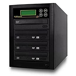 Copystars Blu-Ray-Burner DVD Duplicator 16X BD-R BDXL-MDisc CD-Dvd External Burner Duplicator 1 to 3 Tower SYS-BDR-1-3-LGCH
