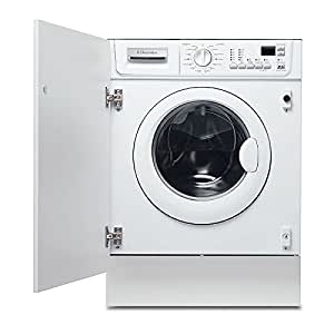 Electrolux EWX 12550 W Integrado Carga frontal 6kg 1200RPM C Color blanco - Lavadora (Integrado, Carga frontal, C, A, Color blanco)
