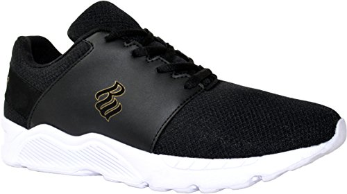 Rocawear Shoes, Sneakers for Men Athletic Shoes; Cool Montrose Joggers EVA Sole Black/White -