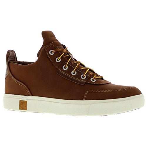 Timberland Mens Amherst High Top Chukka Sahara Nubuck Shoes 8 US