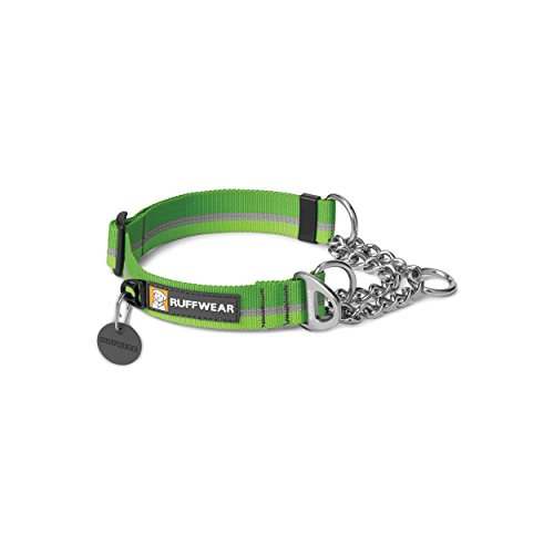 Ruffwear - Chain Reaction Limited Cinch, Audible Correction Collar, Meadow Green, Large