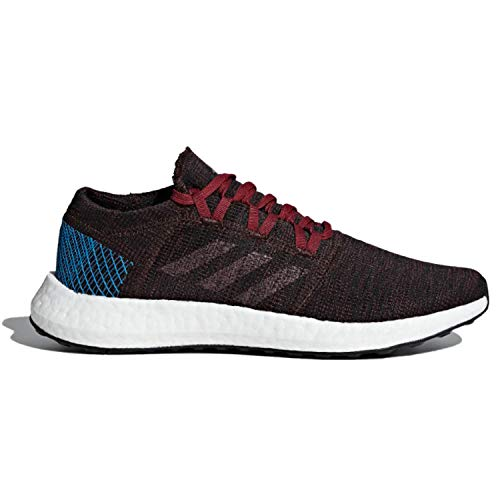 adidas Men's Pureboost Go Running Shoes Night Red/Noble Maroon/Bright Blue 10 D(M) US