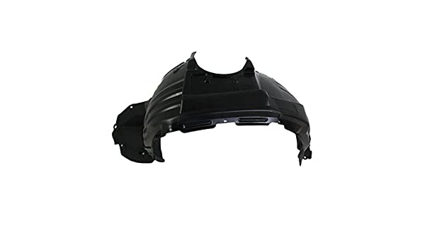 w// F Sport Pkg RX350 13-15 FRONT BUMPER MOLDING RH Plastic Chrome