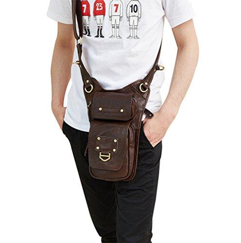 Genda 2Archer Bolsa de Hombro Pequeño Tracolla Bolso de Cuero Cruzado Bolsa Divertida (15cm * 5cm * 28cm)