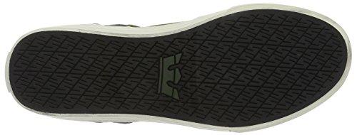 Supra Vaider LC Sneaker Dunkles olivgrünes Weiß