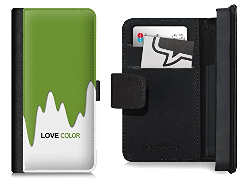 Design Flip Case für das iPhone 6 Plus - ''LoveGreen'' von caseable colors