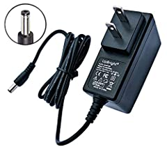 UpBright NEW Global 5V - 12V AC / DC Adapter Replacement for DC12V Liberty Safe Handgun Vaults 12592 A/C Adapter HDX-AC Fits Smart Vault Liberty 9G HDX-150 MICRO Biometric Safe & HDX-250 SmartVault Biometric Handgun Pistol Safes Model ITE...