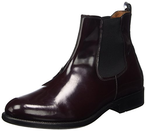 POINTS Bordeaux Chelsea Diana Femme Boots TEN vqgdg