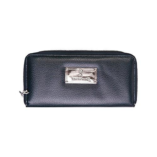 Browning Womens Zip Around Black Wallet
