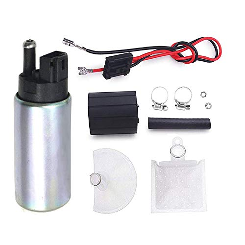 Universal Intank Electric Fuel Pump With Installation Kits fits Honda Lexus Mazda Toyota for Cars Trucks SUVs GAS Fuel Pump Replaces # E2068 E8213