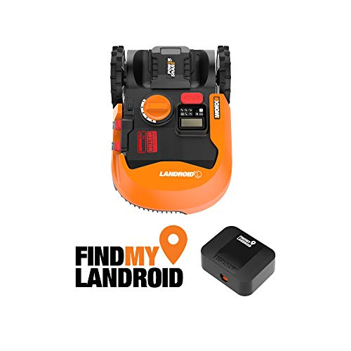 Worx WR153 Landroid L 20V PowerShare Robotic Lawn Mower with GPS Module Included