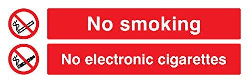 Caledonia signos 13086 G no cartel no fumar, cigarrillos ...
