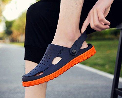scarpe scarpe uomo 2 da WFL uomo estiva da Sandali da da da estate uomo e scarpe uomo da marea uomo uomo ciabatte mezza spiaggia da sandali 4vWXA4
