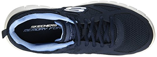 52635 black SKECHERS Blu BURNS AGOURA q4wCTwxS