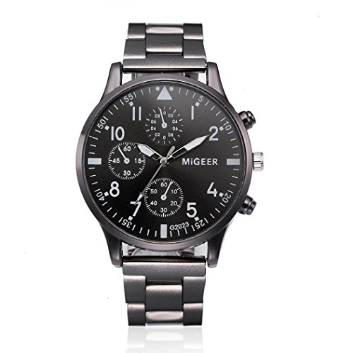 Clearance paymenow 2018 new men fashion chronograph watch classic stainless steel analog quartz for Watches clearance