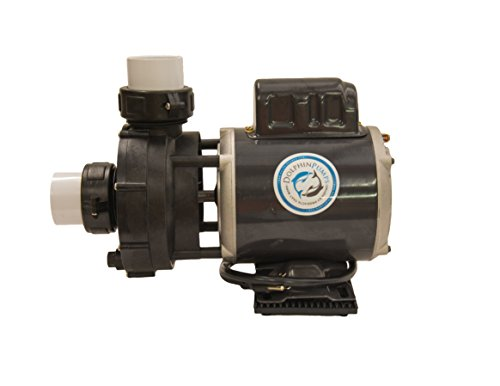 Dolphin Diamond Amp Master 4750 Type 2 Non-Abrasive Freshwater and Clean Marine Water Seal External Water Pump (Dolphin Amp Master)