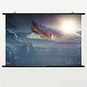 DAKE Home Decor DIY Art Posters with Destiny Wallpaper(5) Wall Scroll Poster Fabric Painting 24 X 16 Inch (60cm X 40 cm)