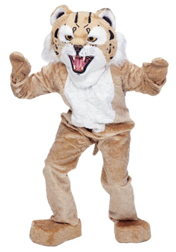 Rubie's Co Bobcat Mascot Costume, Brown/White, One (Bobcat Costume)