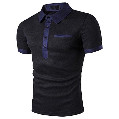 Mhomzawa ポロシャツ メンズ 半袖 大きいサイズ Tシャツ2018新入荷 カジュアル 紳士ポーツゴルフ シャツ ゆったり リラックス 着やすい すぐ着れる らく 気持ち良い トップ ブラウス